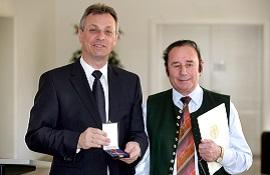 Pollin Electronic 2008 Bundesverdienstkreuz Max Pollin sen.