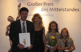 Pollin Electronic Großer Preis des Mittelstandes 2009