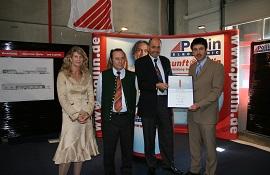 Pollin Electronic Auszeichnung für Nachwuchsförderung 2007